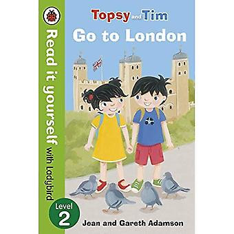Topsy en Tim: Ga naar Londen - Lees het zelf met lieveheersbeestje: niveau 2 (Lees het zelf niveau 2)