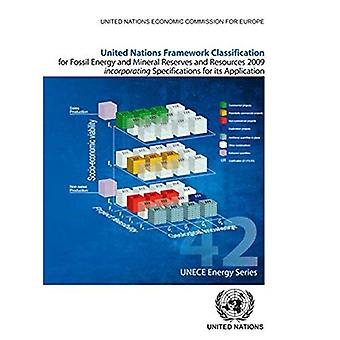United Nations Framework Classification for Fossil Energy and Mineral Reserves and Resources 2009 incorporating...