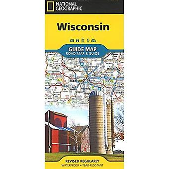 Wisconsin (National Geographic Guide Map)