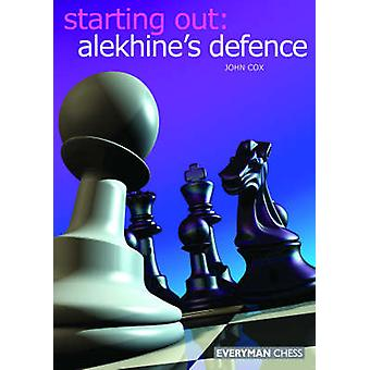 Alekhine's Defence by John Cox - 9781857443707 Book