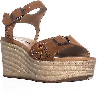 Lucky Brand Womens Naveah 2 Open Toe Casual Ankle Strap Sandals