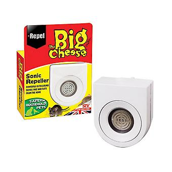 STV International The Big Cheese Sonic Mouse And Rat Repeller