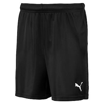 PUMA LIGA Training s Core Jr Kinder Shorts Schwarz-Weiss