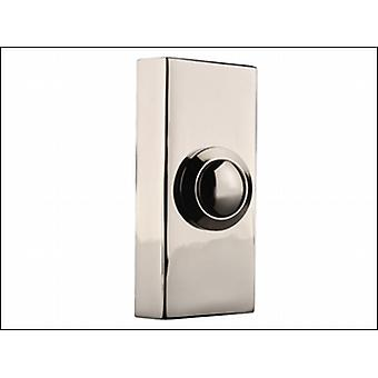 WIRED BELL PUSH SURFACE MOUNTED CHROME
