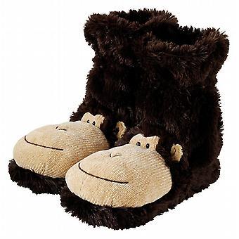 Casa aroma divertimento per calze piedi novità pantofola: scimmia