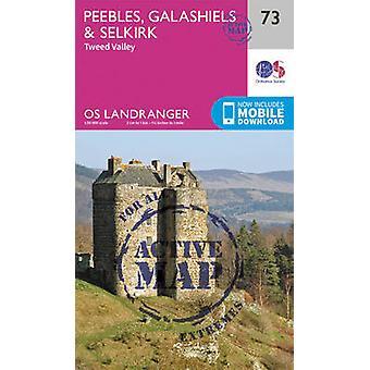 Peebles - Galashiels & Selkirk - Tweed Valley by Ordnance Survey - 97