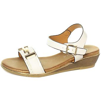 Cipriata Italina Brooch Trimmed Vamp Womens Sandals  AND COLOURS