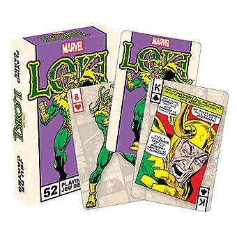 Marvel Loki Retro Playing Cards