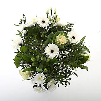 Bunch of Flowers Kim extra large, white | Height: 50 cm