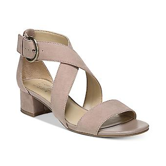 Naturalizer Womens Amelia Fabric Open Toe occasionnels cheville Strap Sandals