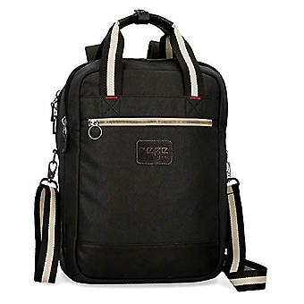 Pepe Jeans Strike Casual Backpack - 42 cm - 16.13 litres - Black
