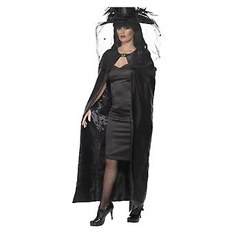 Deluxe Witch Cape, Negro