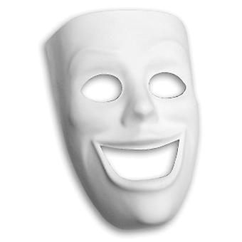 Plastic Mask Happy Face Pm4209
