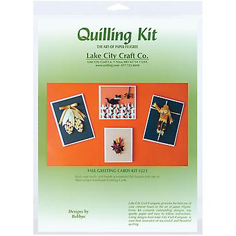 Quilling Kit Fall Greeting Card Q223