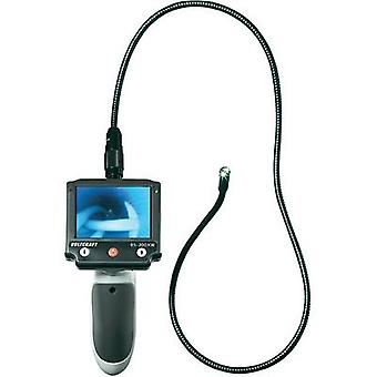 Endoscope VOLTCRAFT BS-200XW Probe diameter: 9.8 mm Probe length: 88 cm Focus, Extensions (optional), Detachable screen