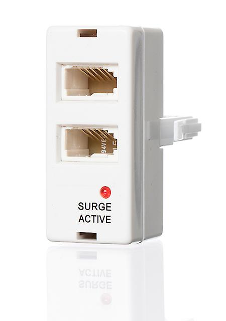 Telephone Double Adapter Anti Surge