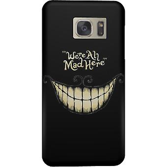 We are all mad here cover for Galaxy S7