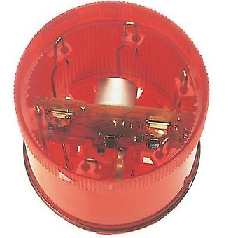 Signal tower component LED Werma Signaltechnik 644.100.75 Red Non-stop light signal 24 Vdc WERMA KombiSign 71