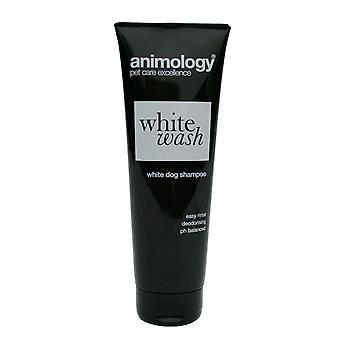 Animology hund hvid vask Shampoo 250ml (pakke med 4)