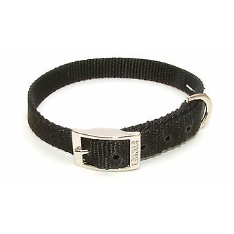 Canac Single Collar 25mmx45-55cm Black