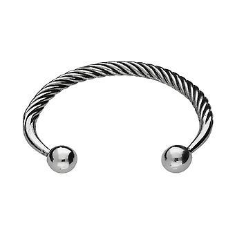 Handmade Round Ball Head Celtic Pewter Small Bracelet ~ Adjustable