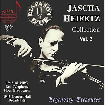 Jascha Heifetz - Jascha Heifetz samling, Vol.2 [CD] USA importerer