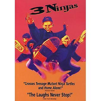 3 Ninjas [DVD] USA import