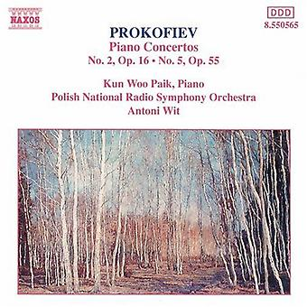 S. Prokofiev - Prokofiev: Piano Concertos nr. 2 & 5 [DVD] USA import