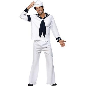 Original village people costume outfit Navy sailor Gr. M