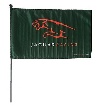 Jaguar Jaguar F1 Racing Flag With Pole