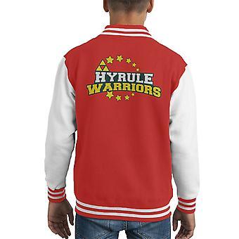 Hyrule Warriors Legend Of Zelda Kid's Varsity Jacket
