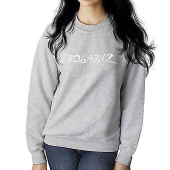 29 06 42 12 Donnie Darko Time Clear Dark Women's Sweatshirt