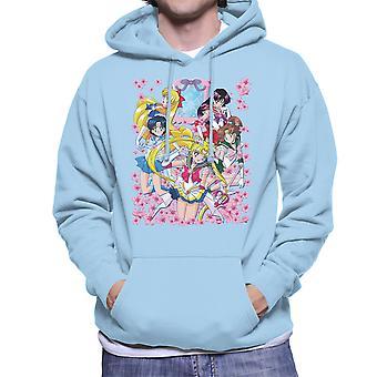 Sailor Moon Inner Senshi Men's Hooded Sweatshirt