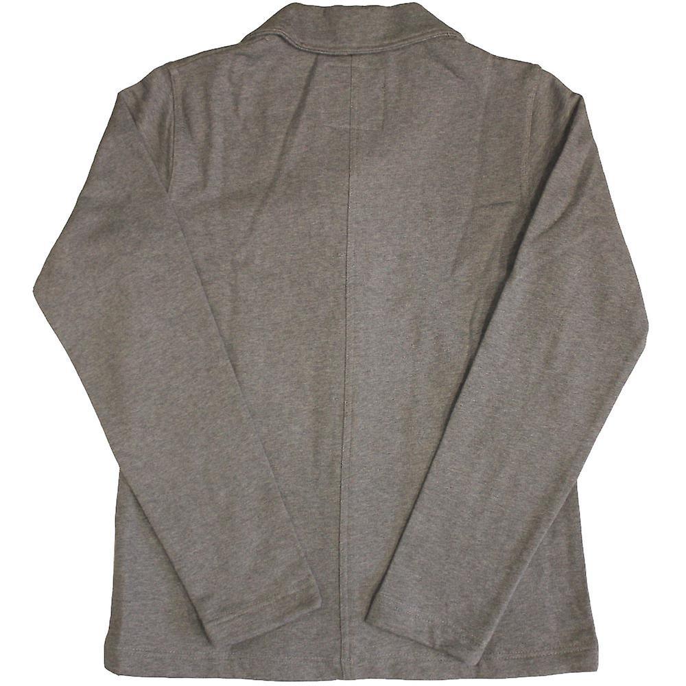 Dickies Flagstaff Shawl Collar Sweatshirt Dark Grey Melange