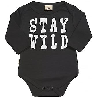 Spoilt Rotten STAY WILD Organic Baby Grow