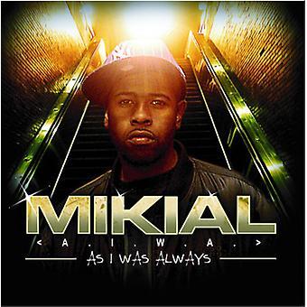 Mikial - Aiwa (som jeg var altid) [CD] USA importerer