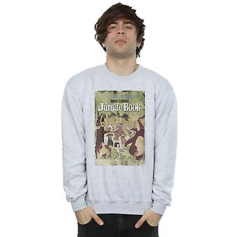 Disney Men's The Jungle Book Retro Poster Sweatshirt
