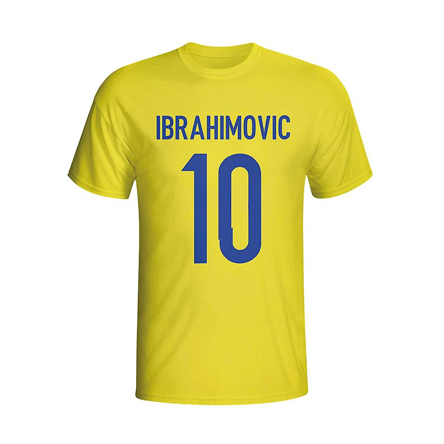 Zlatan Ibrahomovic Sweden Hero T-shirt (yellow)