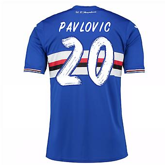 2016 / 17 Sampdoria Home Shirt (Pavlovic 20)