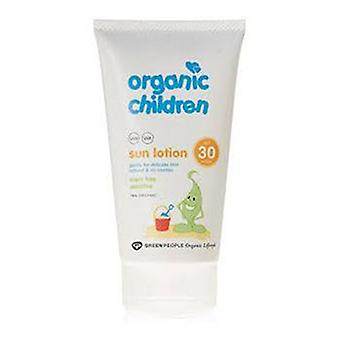 Green People Unscented Lotion Spf30 150 Ml Children (Children , Cosmetics , Body lotions)