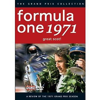 F1 anmeldelse 1971 stor skotte [DVD] USA importerer