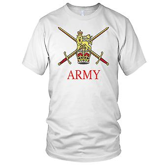 British Army Crossed Swords Full Colour Kids T Shirt