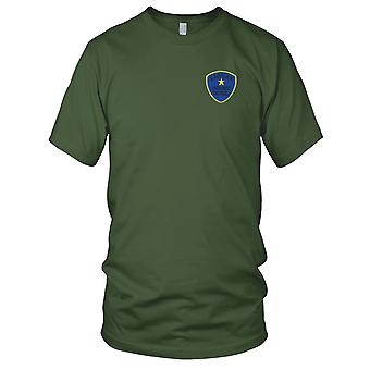 USAF luftforsvar - laotiske Highway Patrol brodert Patch - Mens T-skjorte