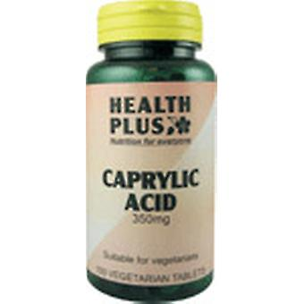 Health Plus, Caprylic Acid 350mg, 100 tablets