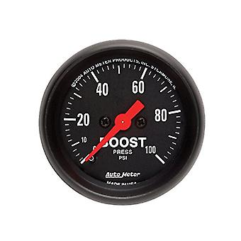 Auto Meter 2618 Z-Series Mechanical Boost Gauge