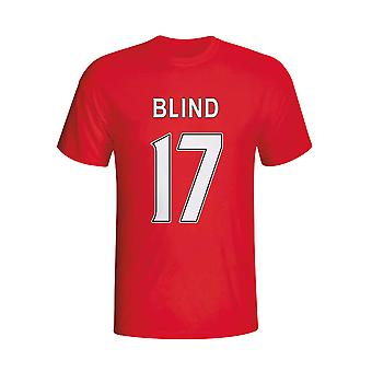 Daley Blind Man Utd Hero camiseta (rojo)