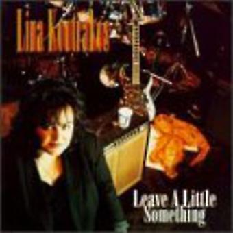 Lina Koutrakos - Leave a Little Something [CD] USA import