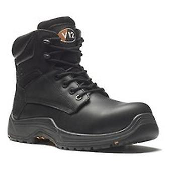 V12 VR600.01 Sz 4 Bison Igs S3 Black Safety Boot Fully Composite
