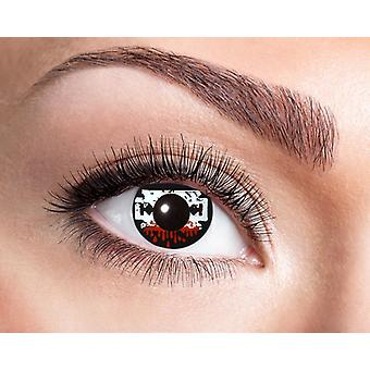 Razor blade Halloween horror contact lenses