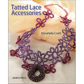 Search Press Books-Tatted Lace Accessories SP-12294